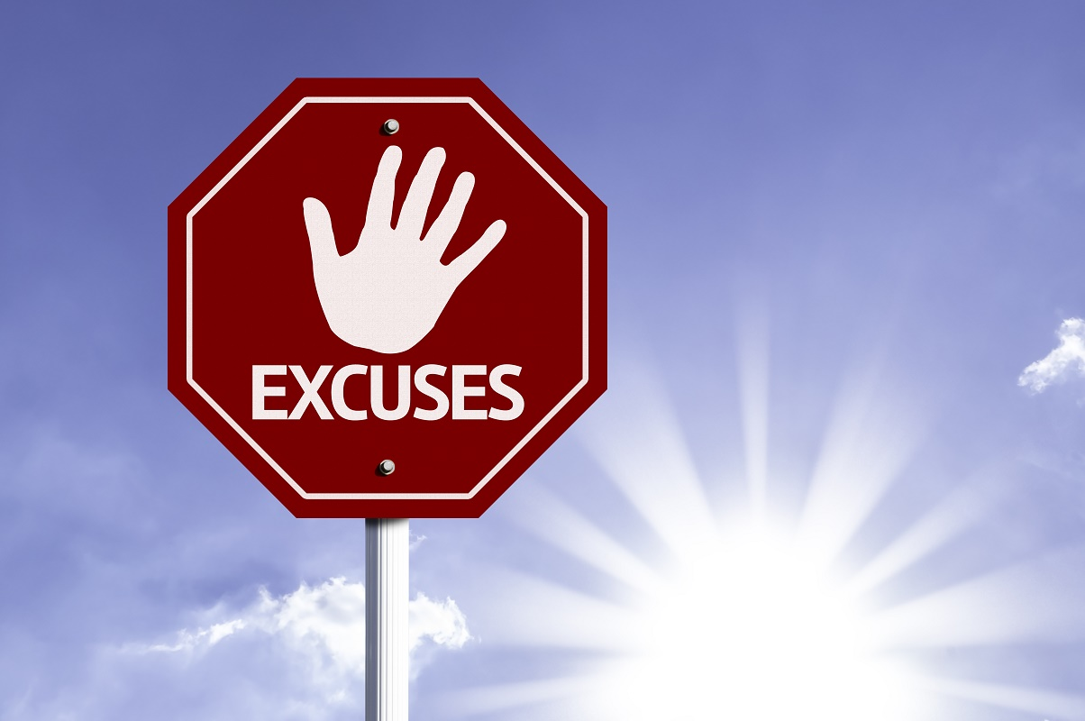 Personal training helps stop making excuses